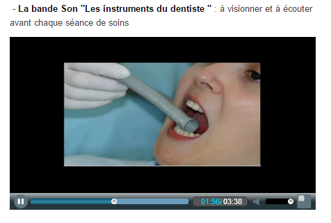 dentiste autisme sons